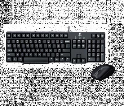 Logitech Combo USB Keyboard and Mouse MK120