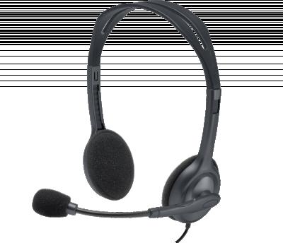 Logitech H111 Stereo Headset Original Garansi Resmi