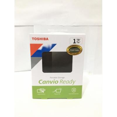 "Toshiba Canvio Ready 1TB HDD External 2.5"" USB 3.0 Harddisk"