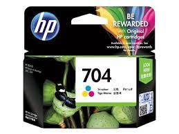 TINTA HP 704 Cartridge Colour Original Tinta Printer HP Warna