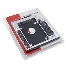 SSD HDD Caddy Bracket Slim 9.5 mm SATA DVD Additional Hard Drive