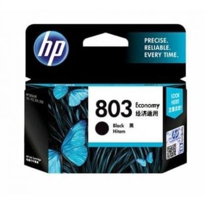 Tinta HP original 803 black ink catridge economy