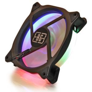Simbadda BattleGround F2 RGB LED FAN / Fan Casing 12cm Fan Gamin