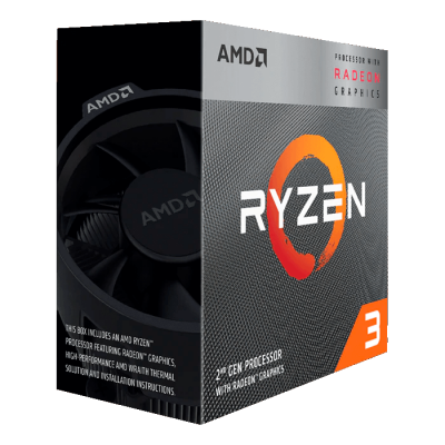AMD Ryzen 3 3200G Processor 4 Core 3.6GHz Radeon Vega 8 Graphics