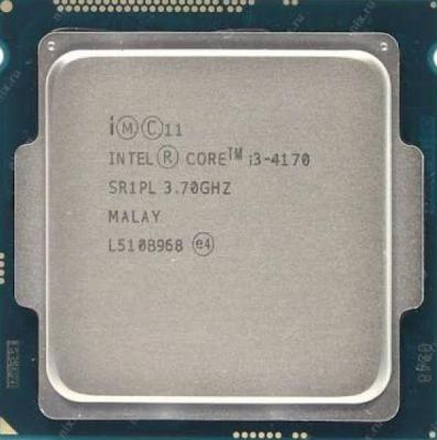 Intel Core i3 4170 Tray Tanpa Fan Processor Socket 1150