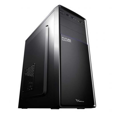 Alcatroz Futura Black N1000 ATX PC Case with 450 Watt PSU Hitam