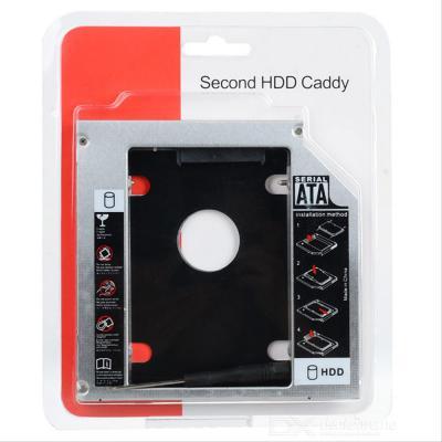 SSD HDD Caddy Slim 12.7 mm SATA DVD Slot Harddisk