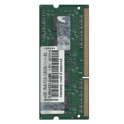 SODIMM VGEN DDR3 4GB PC-12800 / 1600 Mhz RAM V-GeN Rescue