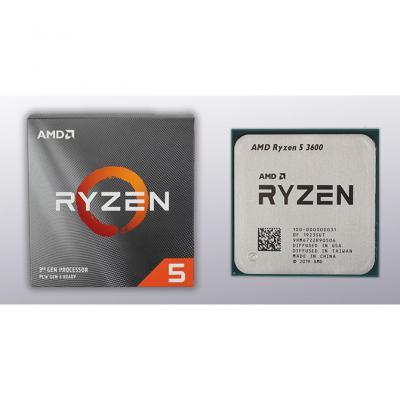 AMD AM4 Ryzen 5 3600 BOX Processor 3.6Ghz Up To 4.2Ghz