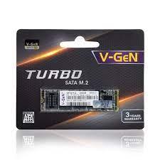 SSD V-GEN 256GB M.2 SATA TURBO V GEN M2 256 GB VGEN 2280