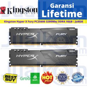 Ram Kingston DDR4 16GB (2x8GB) PC3200 Hyper X Fury HX432C16FB3K2