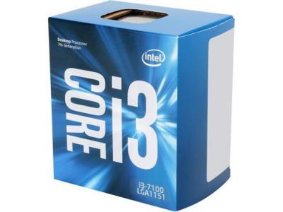 INTEL PROCESSOR  i3-7100 BOX LGA 1151