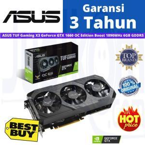 VGA ASUS Gaming X3 GeForce GTX 1660 OC Edition Boost 1890MHz 6GB