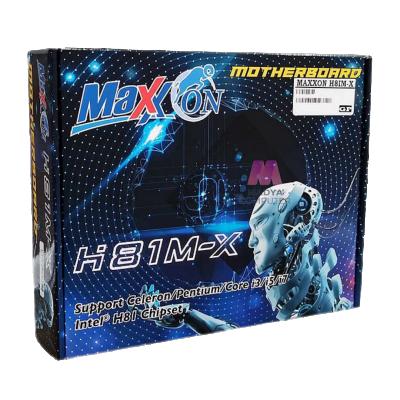 MOTHERBOARD MAXX-ON H81M-X MAXXON H81 SOCKET 1150