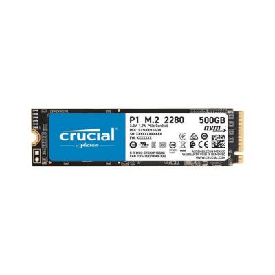 Crucial P1 500GB SSD 3D NAND M.2 2280 NVMe PCIe CT500P1SSD8